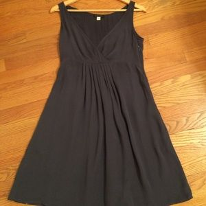 Eileen Fisher 100% Silk Dress with Pockets
